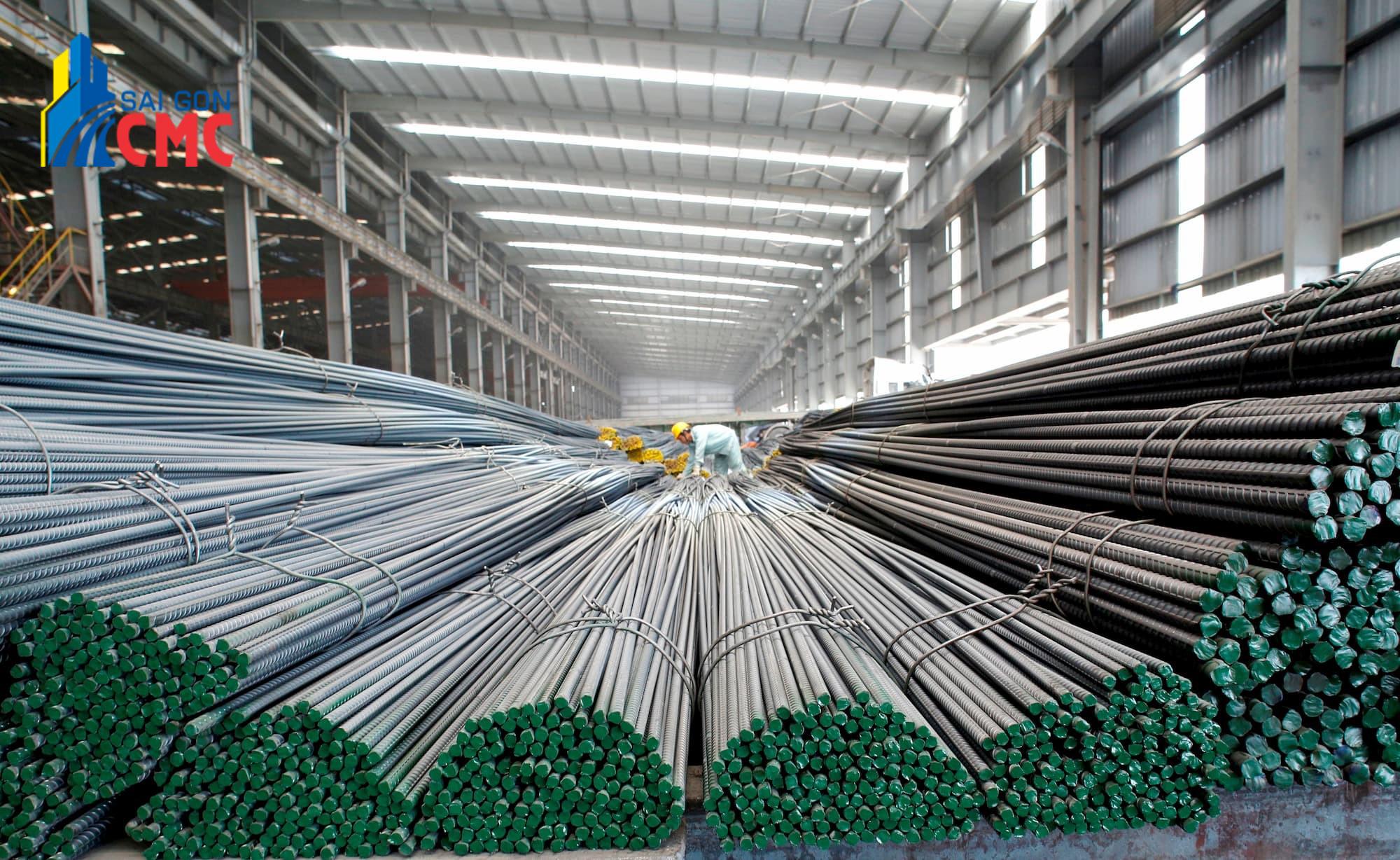 Giá sắt thép nhà máy thép tại Việt Nam