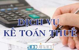 Dịch vụ kế toán trọn gói giá rẻ uy tín chính xác