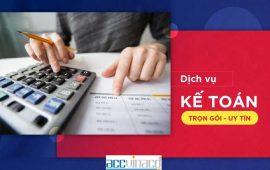 Dịch vụ kế toán trọn gói chuyên nghiệp từ ACC Việt Nam